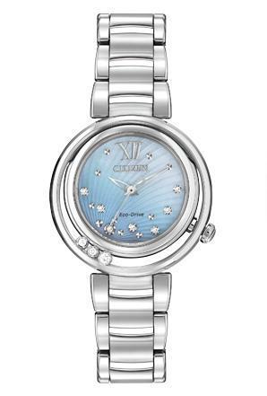 Citizen_L_sunrise_watch_diamond_mother_of_pearl
